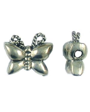 Butterfly Bead (±15x13x6mm; -2mm-;3D)