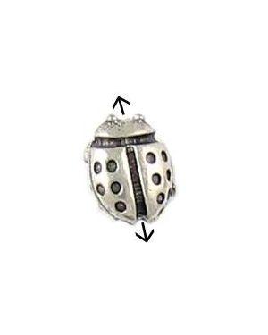 Ladybug Bead (±10x7.5x4.5mm; -1mm-;3D)