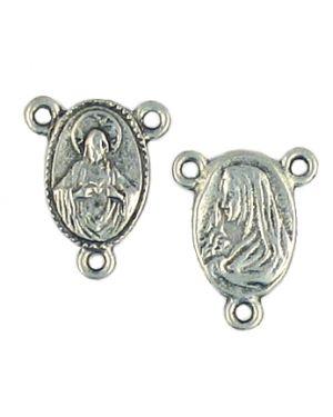Rosary Charm (±16.5x13x2mm; -1.5mm-;2D)