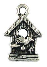 Wholesale birdhouse charms