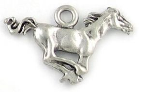 Wholesale Running Horse Mustang Charms.