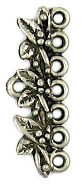 Floral Connector Bar (±12x33x3mm; -2mm-;1D)