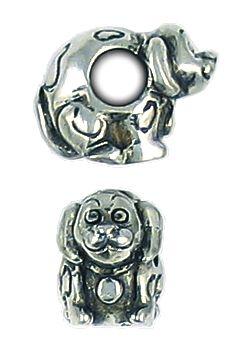 Dog Bead Big Hole (±9x11x15mm; -4.8mm-;3D)