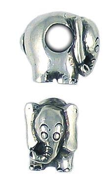 Elephant Bead Big Hole (±9x12x13mm; -4.8mm-;3D)