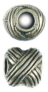 not Bead Large Hole (±10x10x11mm; -4.5mm-;3D)