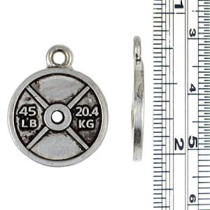 Wholesale Barbell Weight Plate Charms