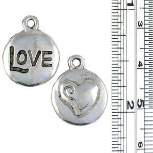 Love and Heart Charm
