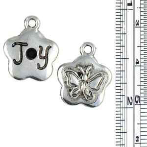 Joy Butterfly Charm with space for crystal