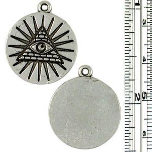 Wholesale Eye and Pyramid Pendants