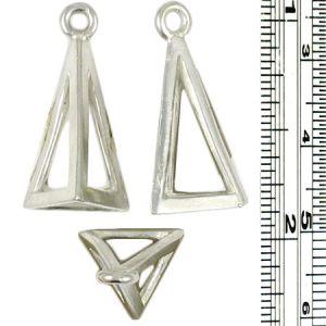 Wholesale Geometric Pyramid Pendants.